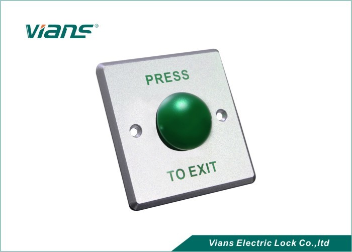 Stainless Steel Green Push To Exit Button Door Release Weatherproof