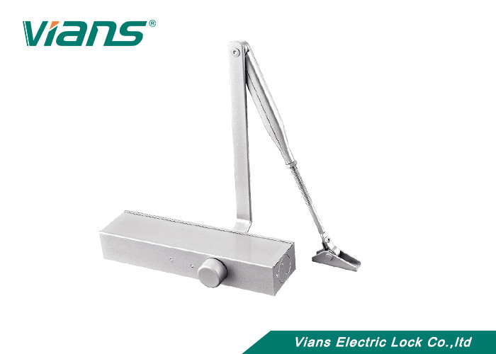 180 Degree Automatic Door Closer with 40-100KG Capacity and Closing Speed Adjustment